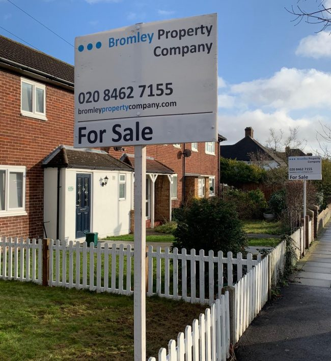 Bromley Property Company sign