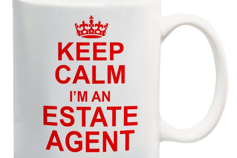 keep calm I'm an estate agent mug