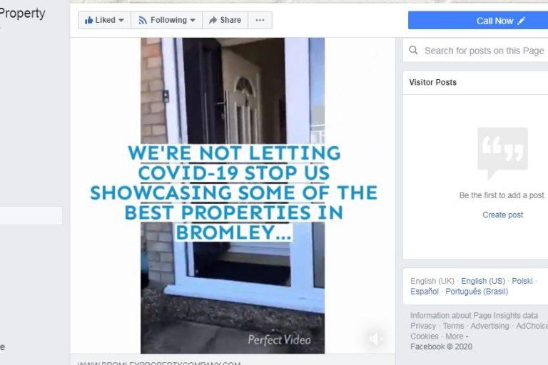 Bromley Property Company vendor video tours