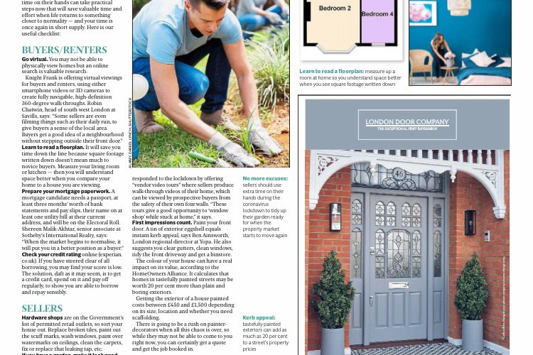 Bromley Property Company in London Evening Standard