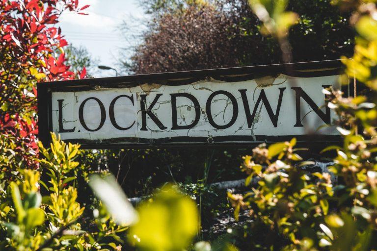 lockdown sign