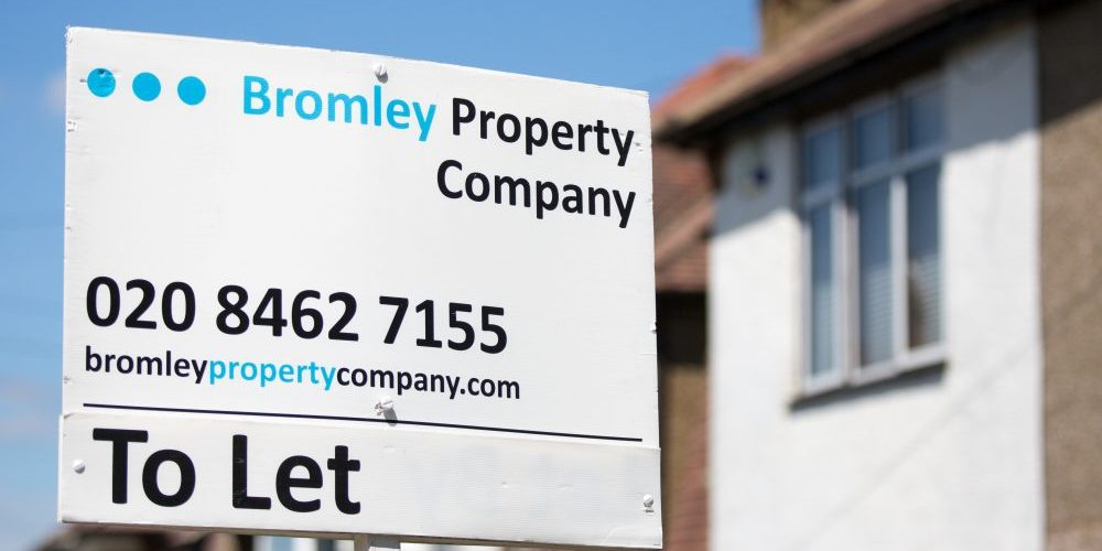 Bromley Property Company to let sign