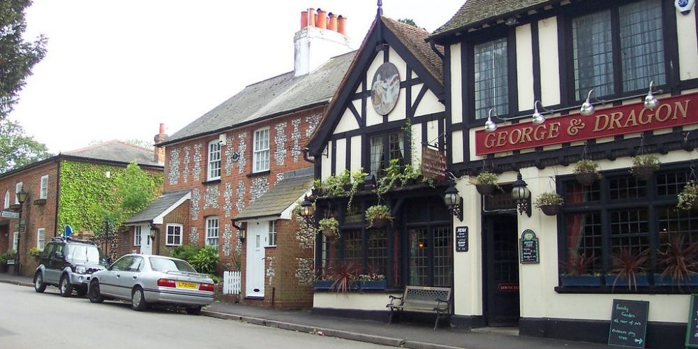 Downe village