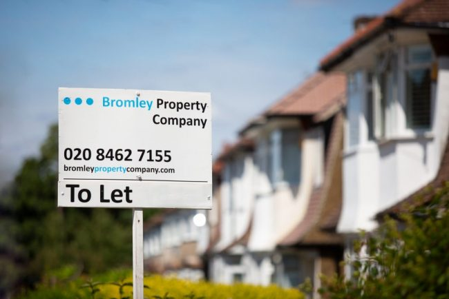 to let Bromley Property Company sign
